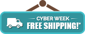 Cyber Week - Free Shipping Storewide!
