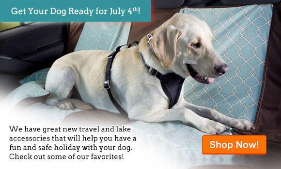 We have great new travel and lake accessories that will help you have a fun and safe holiday with your dog. Check out some of our favorites!