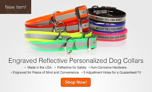 Camouflage ScruffTag Personalized Dog Collars